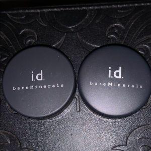 UNUSED Bare Minerals eyeshadows